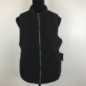 Mossimo Zip Up Vest with Pockets